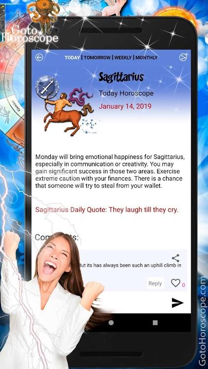 Sagittarius Horoscope - Daily Horoscope 2019 – (Android Apps) — AppAgg