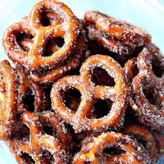 Irresistible Cinnamon Sugar Pretzels.