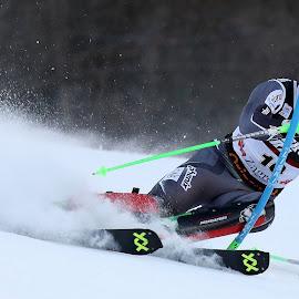 Sebastian Foss Solevaag by Igor Martinšek - Sports & Fitness Snow Sports