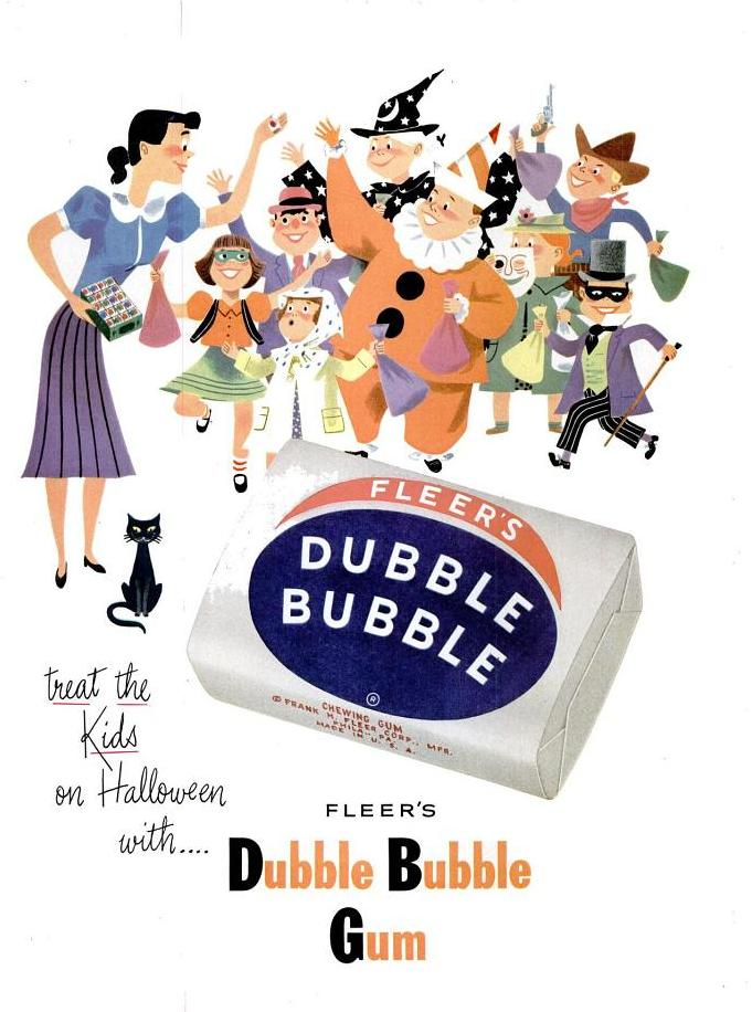 Photo: Dubble Bubble gum - 1952
