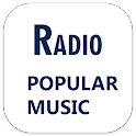 Radio popular music release icon