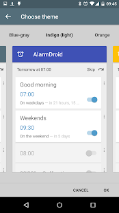 AlarmDroid (alarm clock) Screenshot