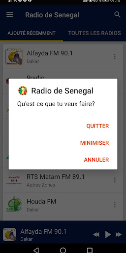 Senegal Radio Stations screenshot 8