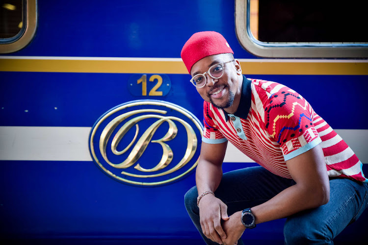 Maps Maponyane will be one of your hosts on the epic journey.