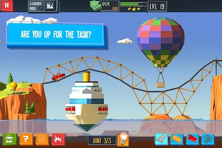 Build a Bridge MOD APK 4.0.7 [Unlimited Money + Unlocked] 6