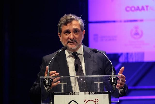 Ángel Escobar, vicepresidente de la Diputación Provincial.