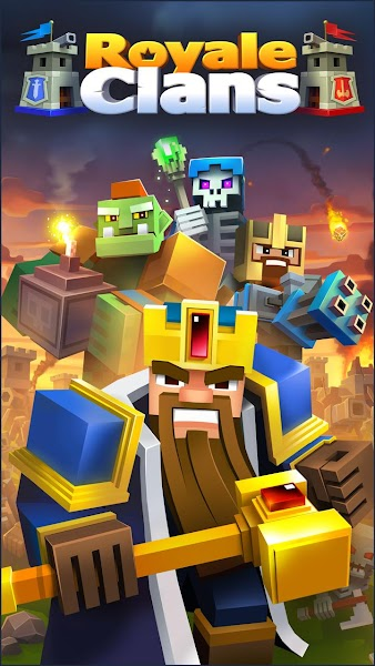 Royale Clans – Clash of Wars v4.38 [Mod]