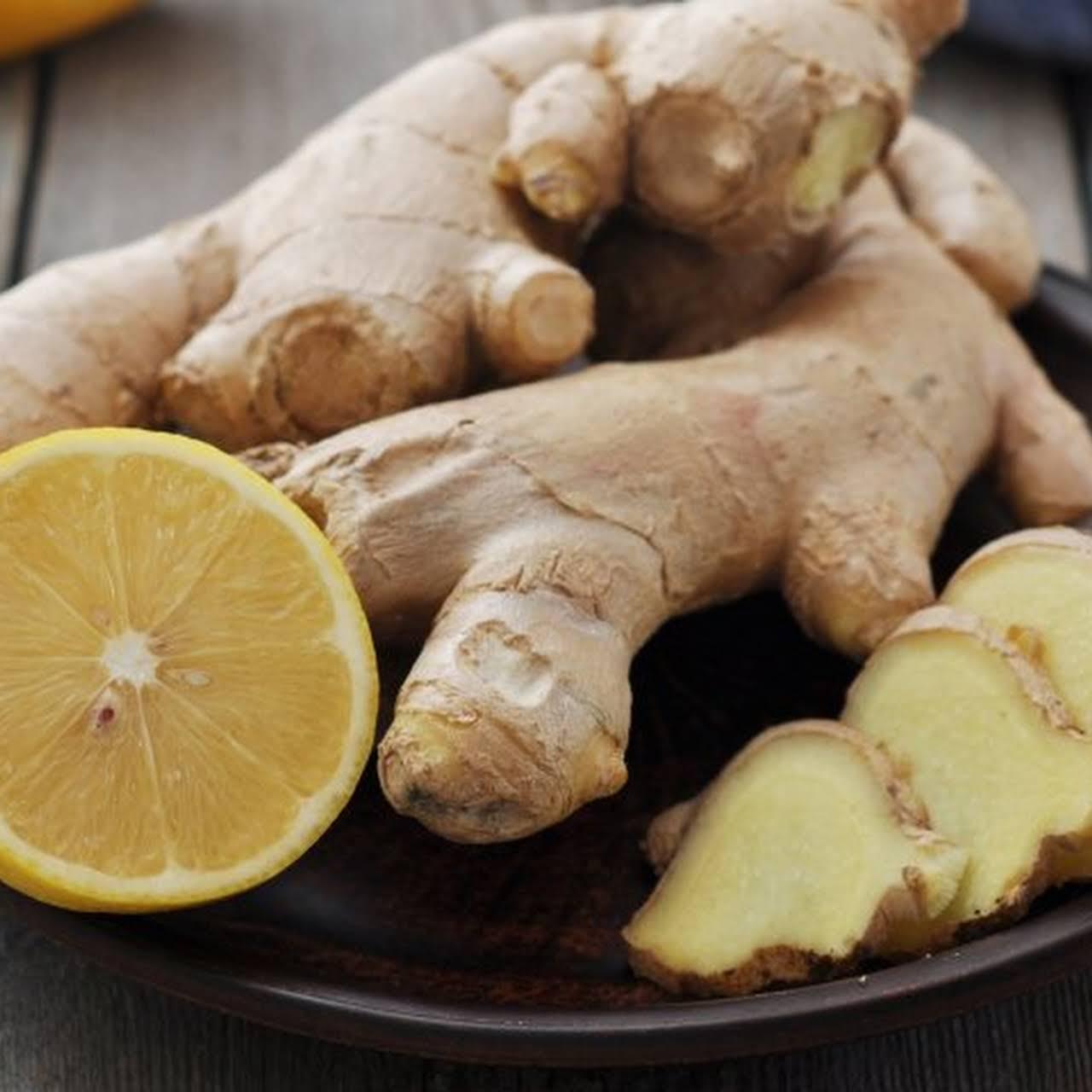 Lemon-Ginger Zinger Kombucha
