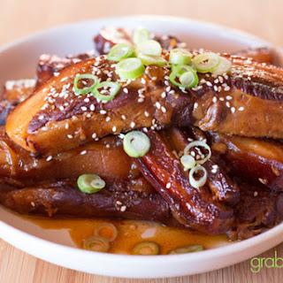 Asian BBQ Pork Ribs.