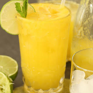 Pineapple Ginger Cleansing Juice.