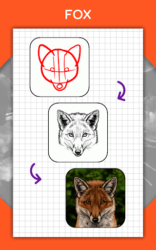 How to draw animals step by step, drawing lessons 1.3 Screenshots 18