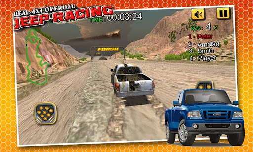 Real 4X4 Jeep Offroad Racing