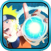 Rasengan Photo Sticker Art Design