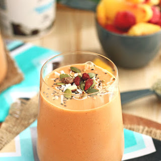 Carrot Orange Fruit Smoothie