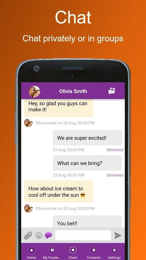 Invitation maker text rsvp purpleslate invites android apps invitation maker text rsvp purpleslate invites screenshot stopboris Images