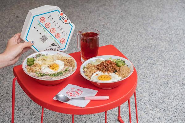 台北文德捷運站美食|我還有點餓-超有個性的便當店!充滿各種港式幽默話語