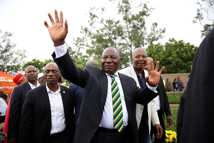 Newly elected president of South Africa Cyril Ramaphosa. File photo.