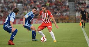 El Tenerife empató en Almería en la primera vuelta.