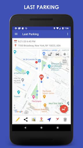 ParKing Premium: Find my car - Automatic screenshots 1