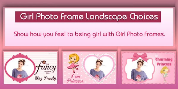 Girly Photo Frame World screenshot 1