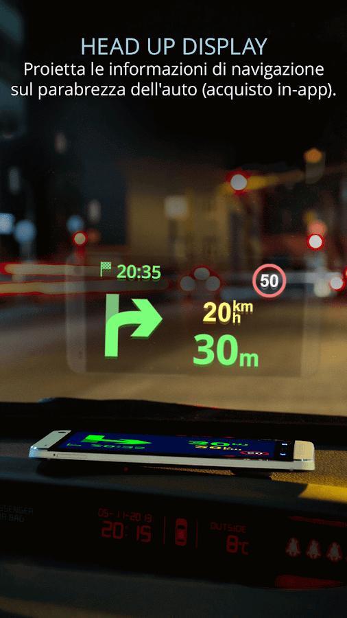 GPS Navigazione e mappe Sygic- screenshot