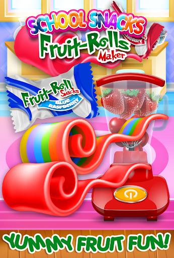 Fruit Roll Candy Maker - School Snacks Sim FREE 1.0 screenshots 1
