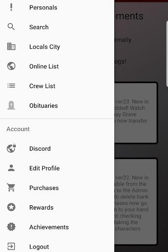 Mafia Mobile App  screenshots 2