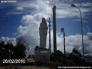 Photo: Carmópolis - Imagem em homenagem a Nossa Senhora do Carmo