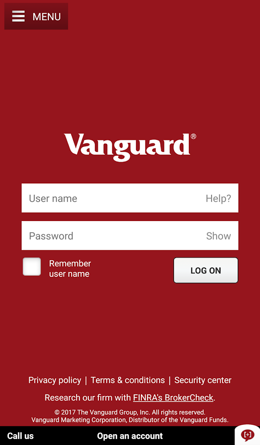 Vanguard- screenshot