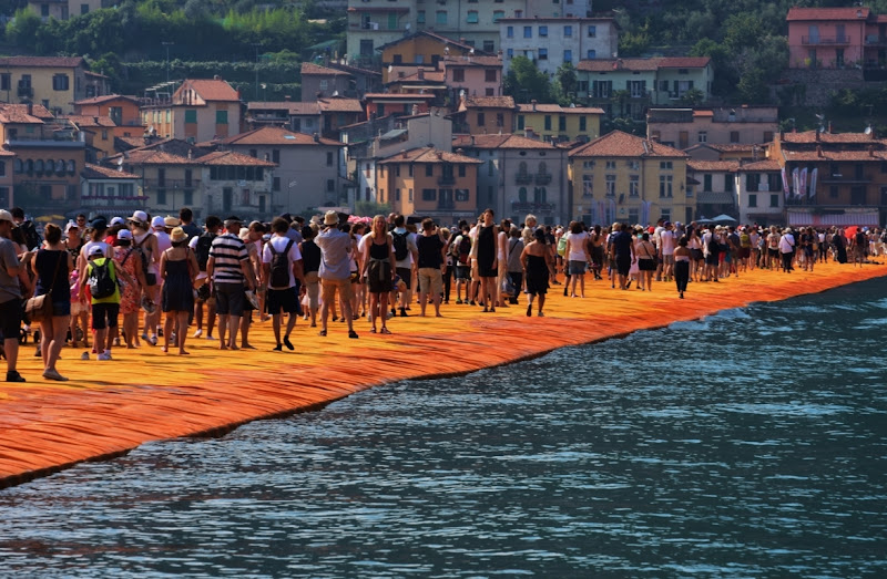 The Floating Piers di Boboparra