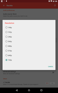 App RecMe Free Screen Recorder APK for Windows Phone