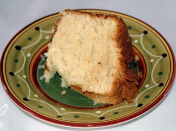 Texas Coconut Pound Cake Recipe