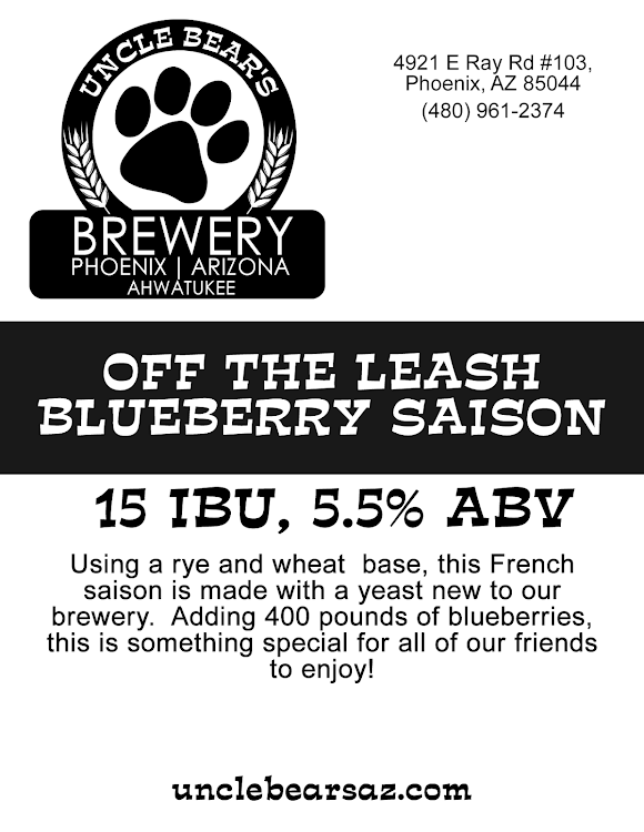 Logo of Uncle Bear's Off The Leash Blueberry Saison