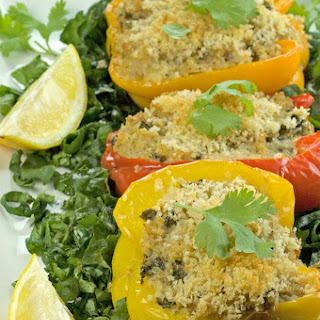 Bell Peppers Stuffed With Bread Crumbs Recipes.