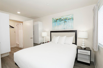 Go to One Bed, One Bath Furnished Floorplan page.