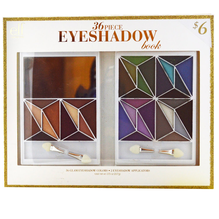 E.L.F. Cosmetics, 36 Piece Eyeshadow Book, Glam, 0.73 oz (20.7 g) by Supermodels Secrets
