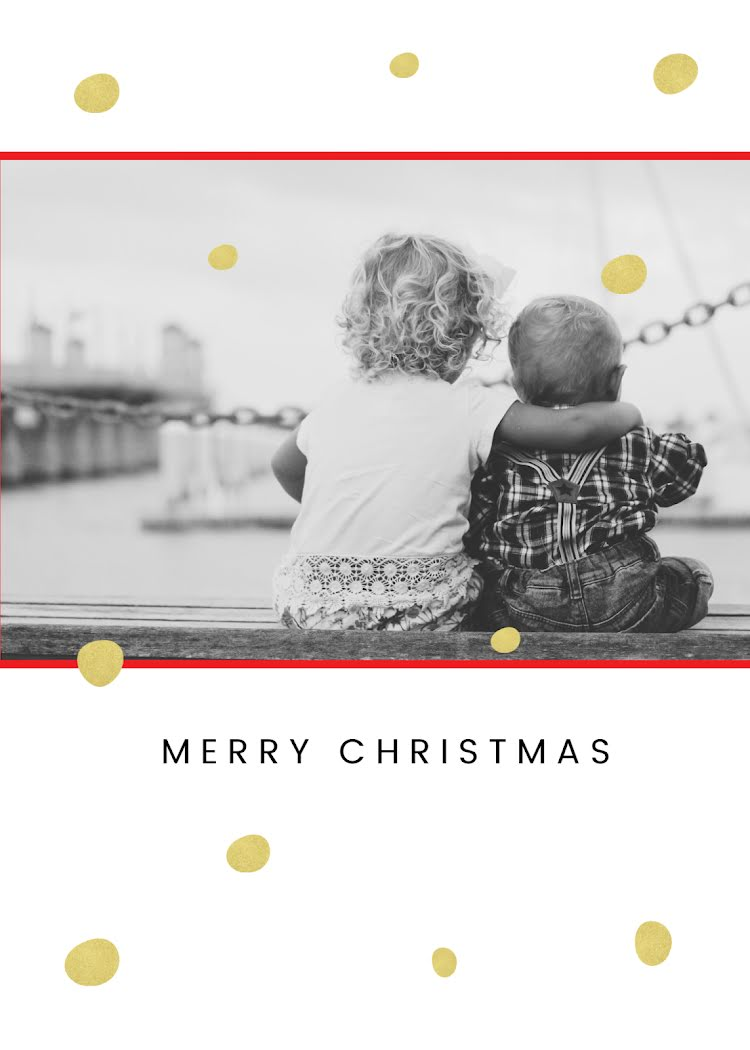 Greetings from the Sweets - Christmas Card Template