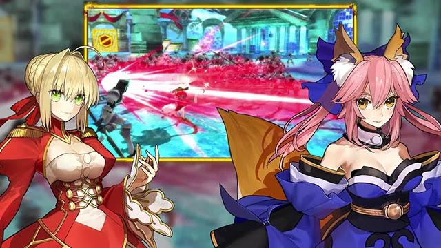 [Fate/Extella] PV ใหม่เวอร์ชั่น Nintendo Switch มาแล้ว!