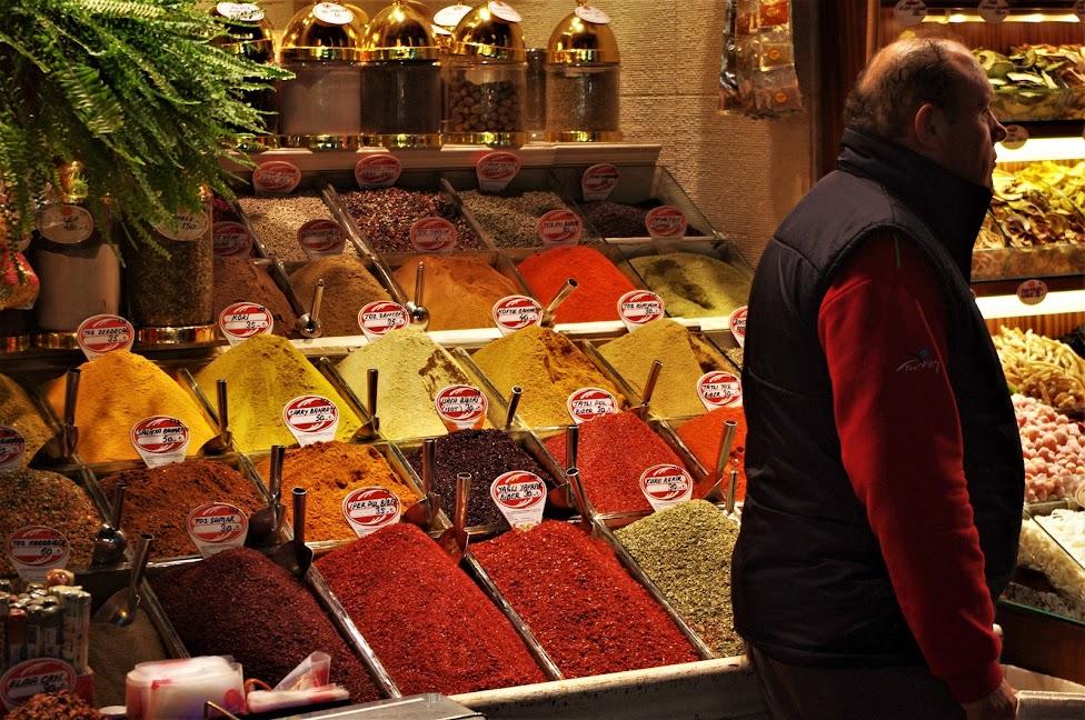 Qué ver en Estambul. Bazar egipcio