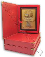 Photo: Нагорода спортсмену на металі. Замовник - Українська федерація карате. Подарунковий футляр