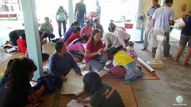 Photo: Data analysis & group discussion, TOT2, Tha Tum, Surin