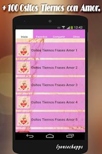 Ositos Tiernos Con Frases De Amor Aplicacions A Google Play