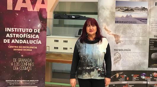 Josefa Masegosa: mujer de las galaxias