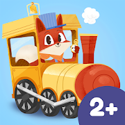 App Icon for Little Fox Train Adventures App in Czech Republic Google Play Store