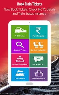Indian Rail IRCTC & Train PNR- screenshot thumbnail