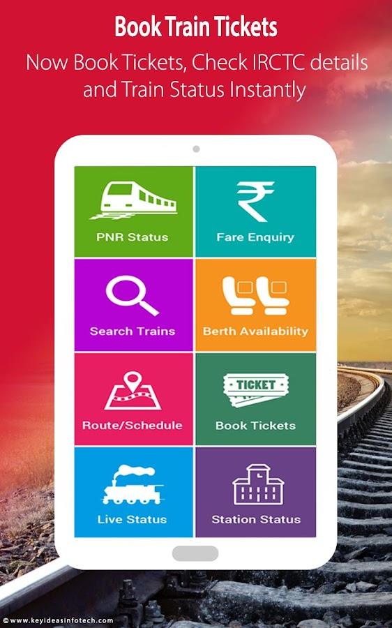 indian railways train schedule pnr status