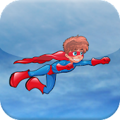 Funny Superhero Great Escape
