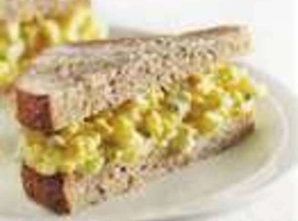EGG SALAD SANDWICH: Grandma cooked 4-6 eggs to the hard boil stage. After peeling...