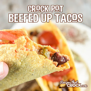 Crock Pot Beefed Up Tacos