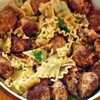 Pork and Lemon 'Polpettine' Meatballs.